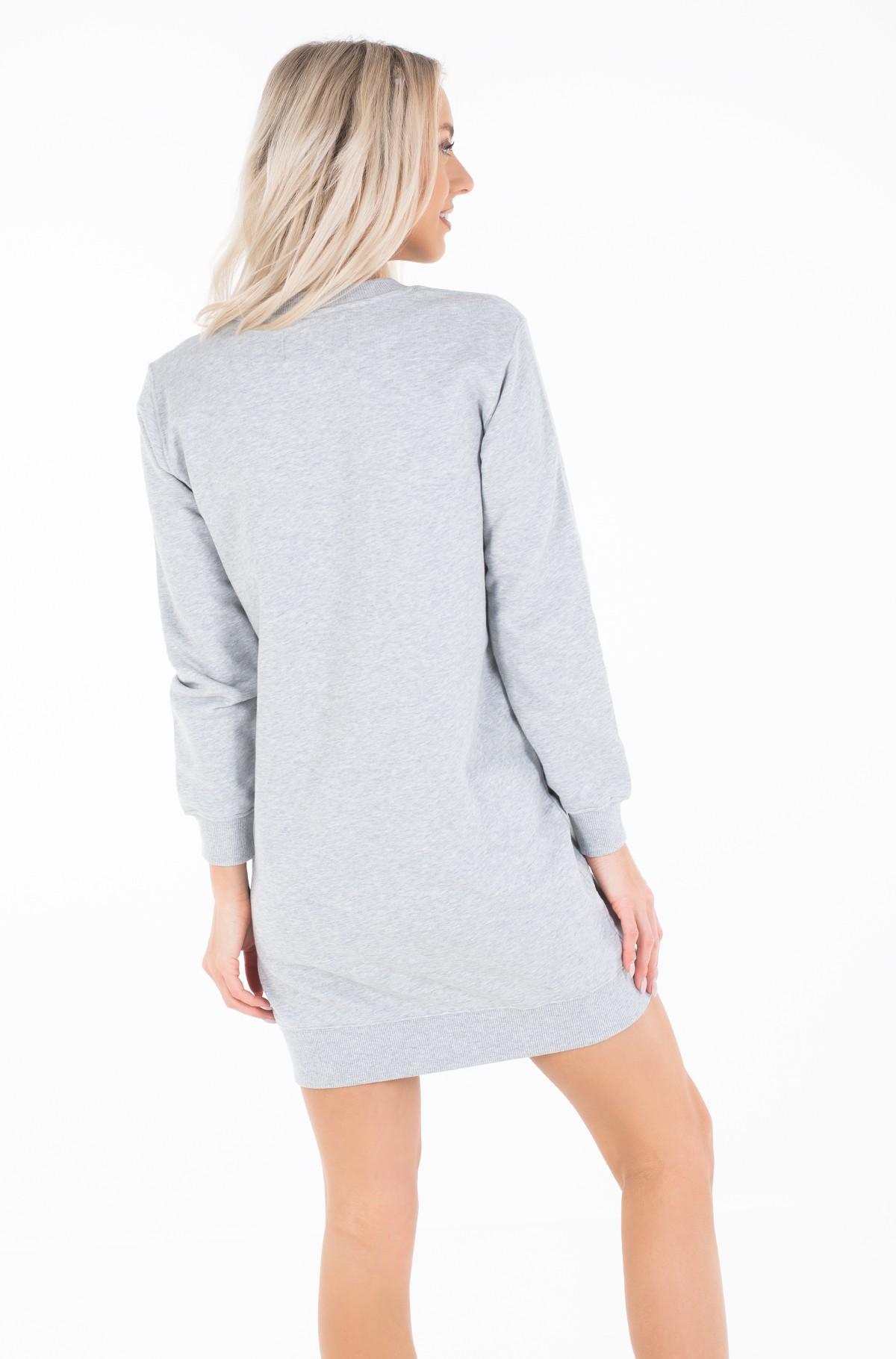 Sweatshirt dress TAPING THROUGH MONOGRAM DRESS-full-4
