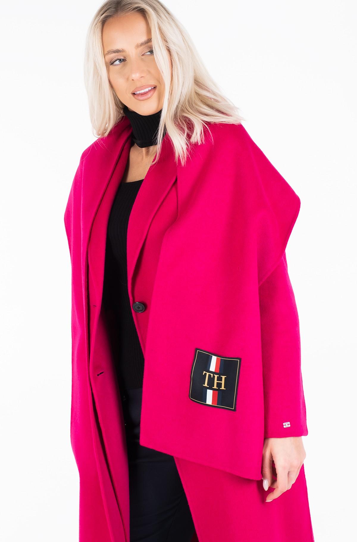 Wool coat BIANCA DF SCARF COAT-full-3