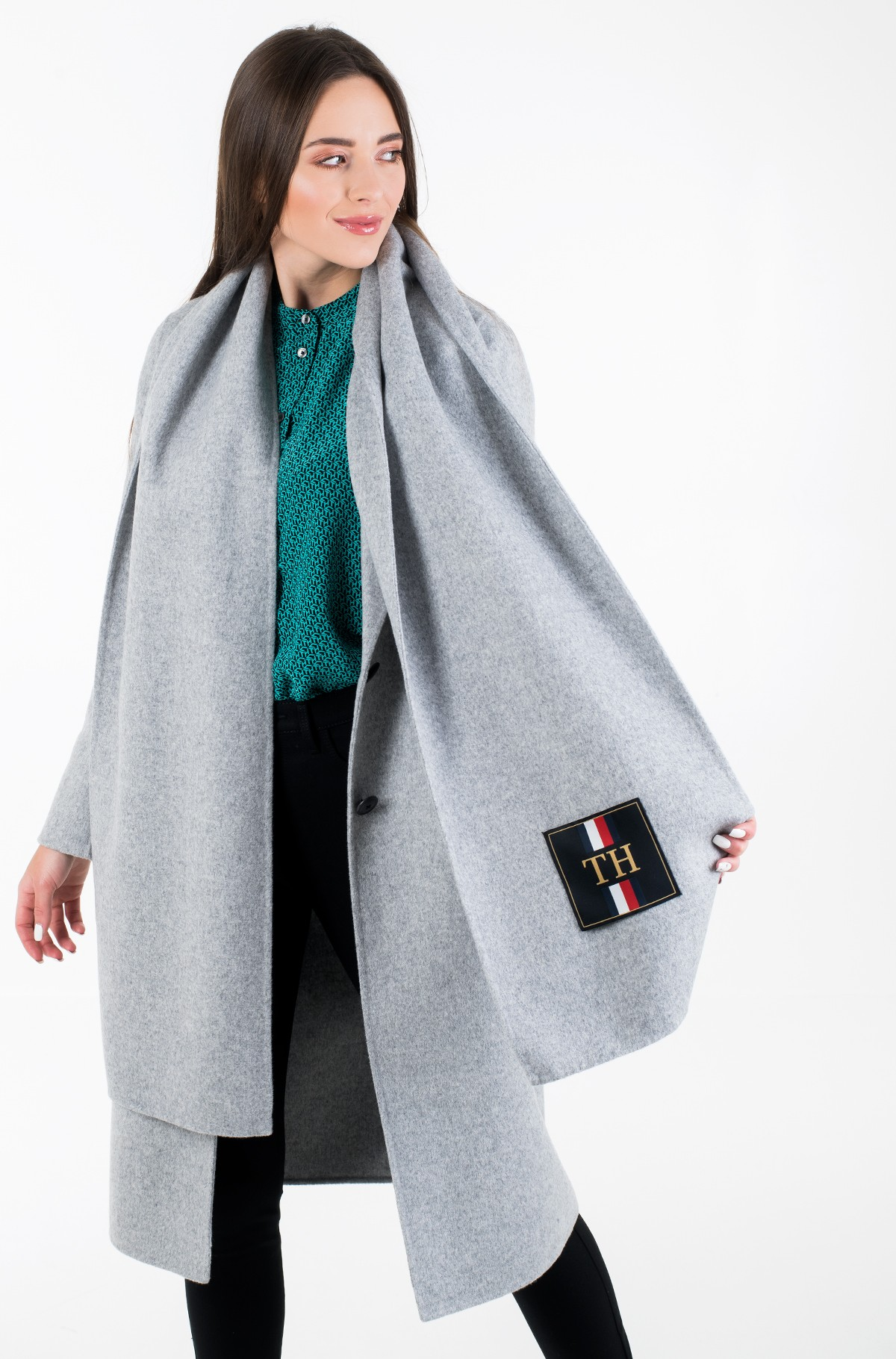 Villane mantel BIANCA DF SCARF COAT-full-1