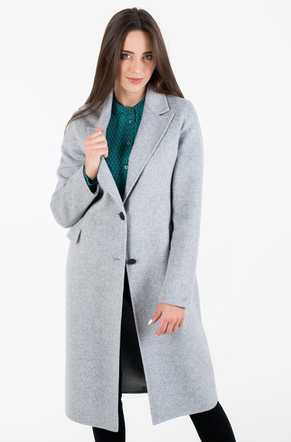 Villane mantel BIANCA DF SCARF COAT-full-3