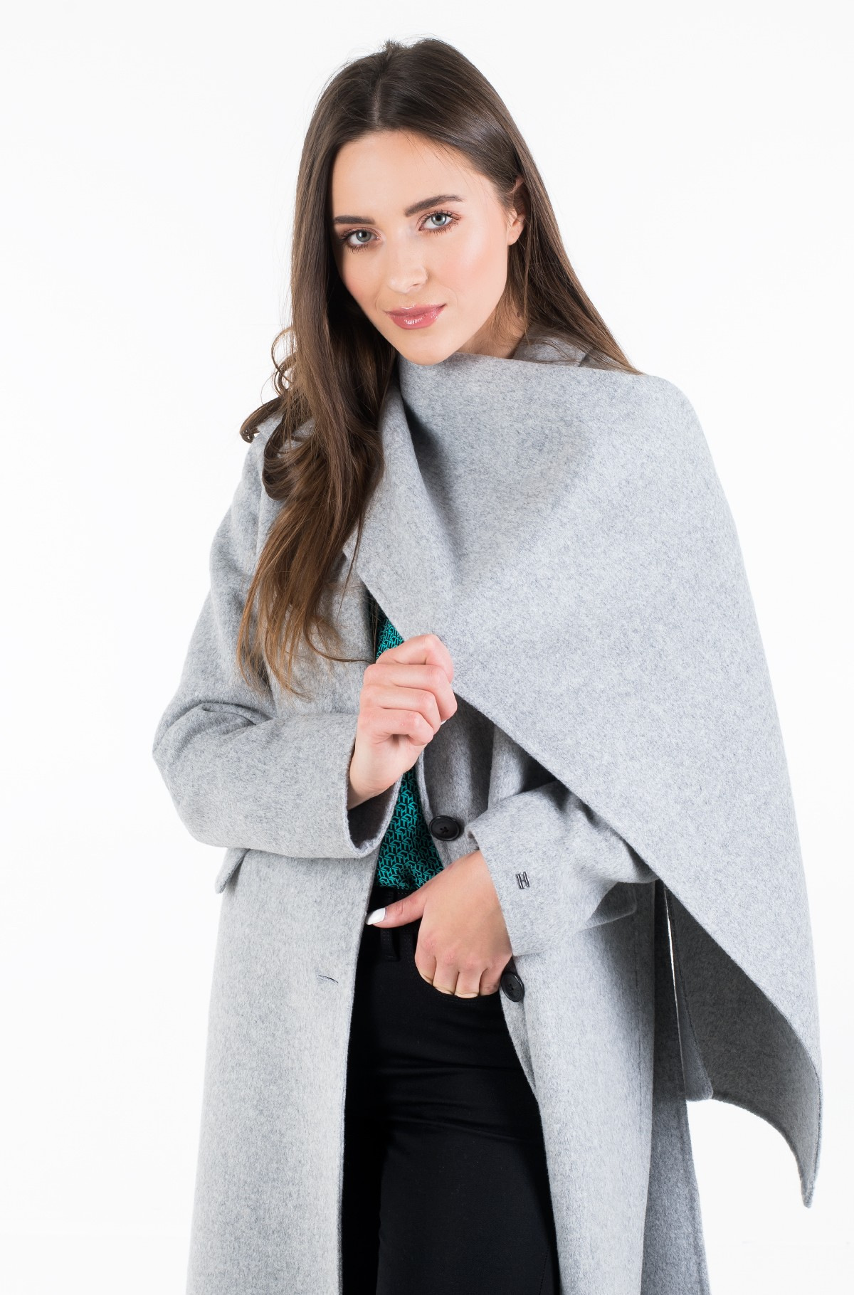 Villane mantel BIANCA DF SCARF COAT-full-4