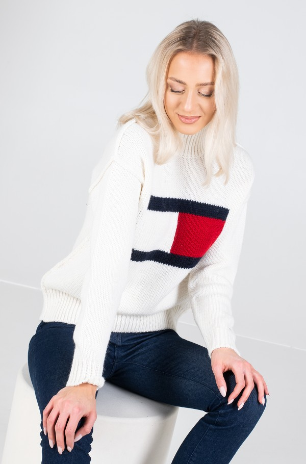 TJW TOMMY FLAG SWEATER-hover