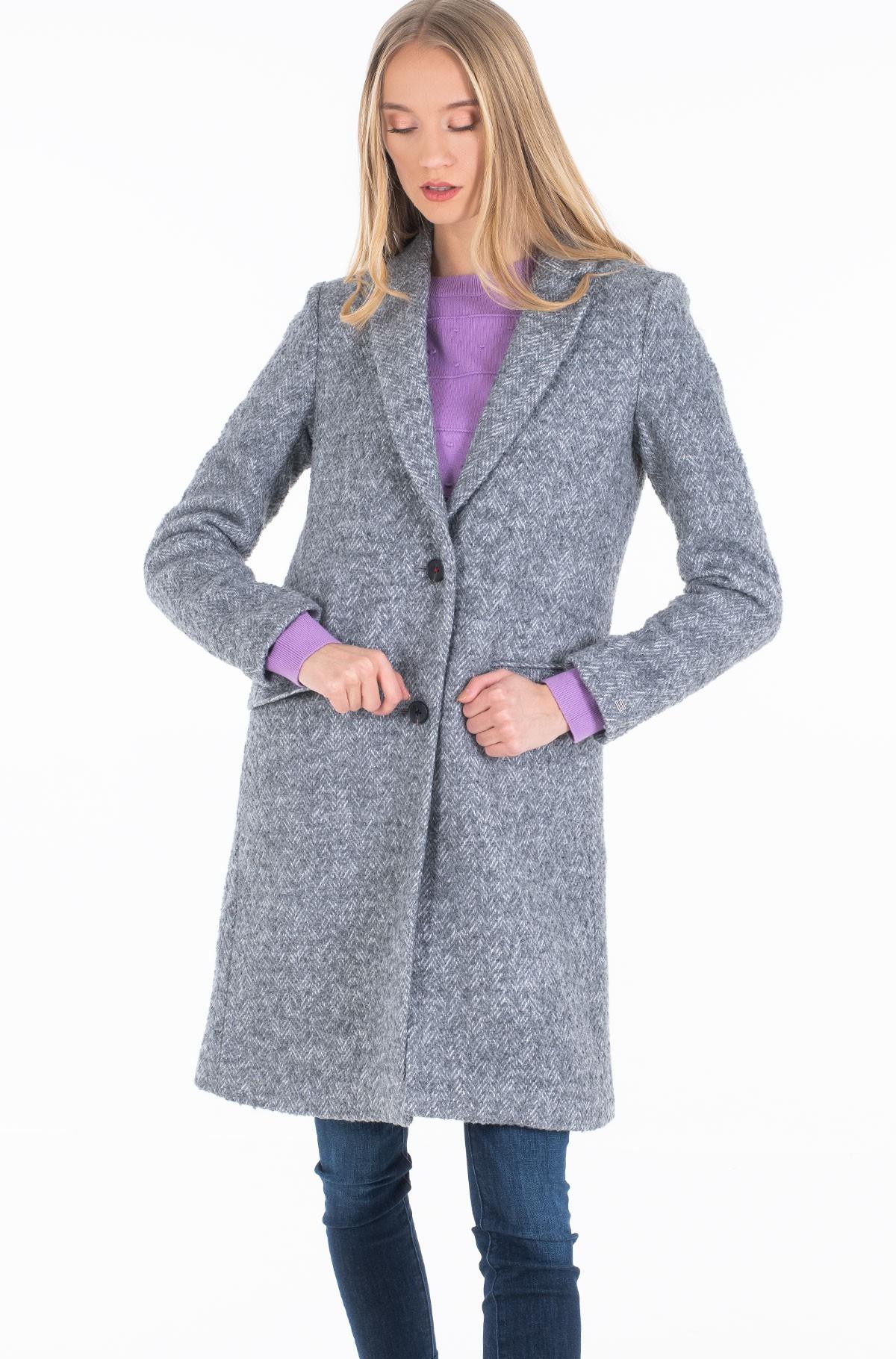 Coat NATASHA TEXTURED CLASSIC COAT-full-1