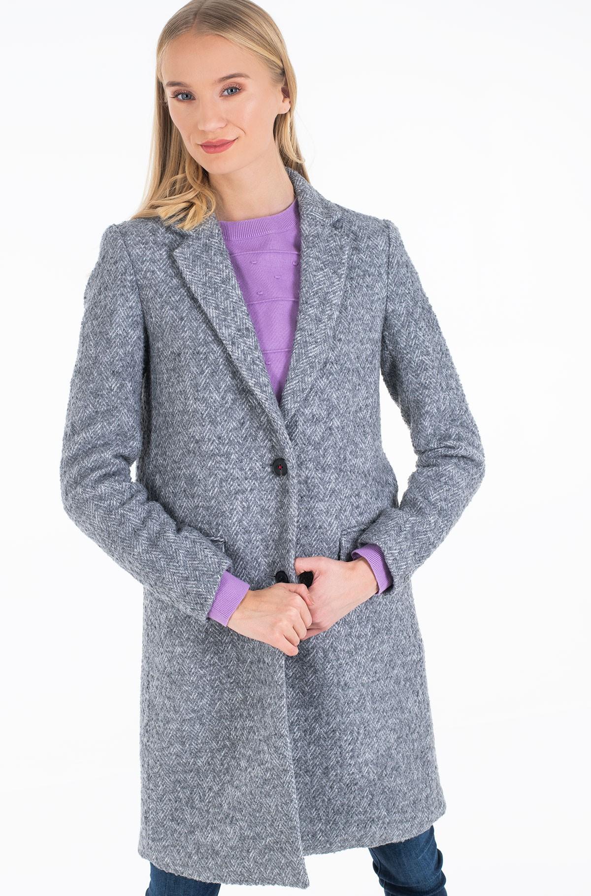 Coat NATASHA TEXTURED CLASSIC COAT-full-2