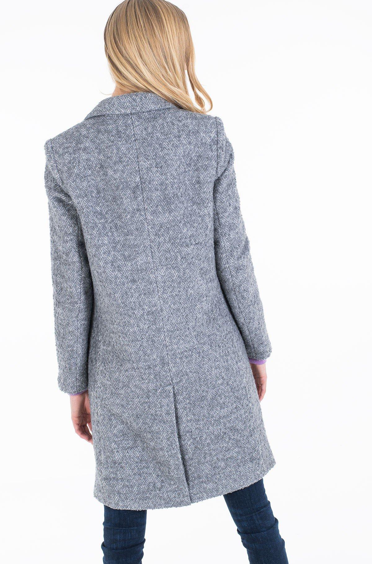 Coat NATASHA TEXTURED CLASSIC COAT-full-3