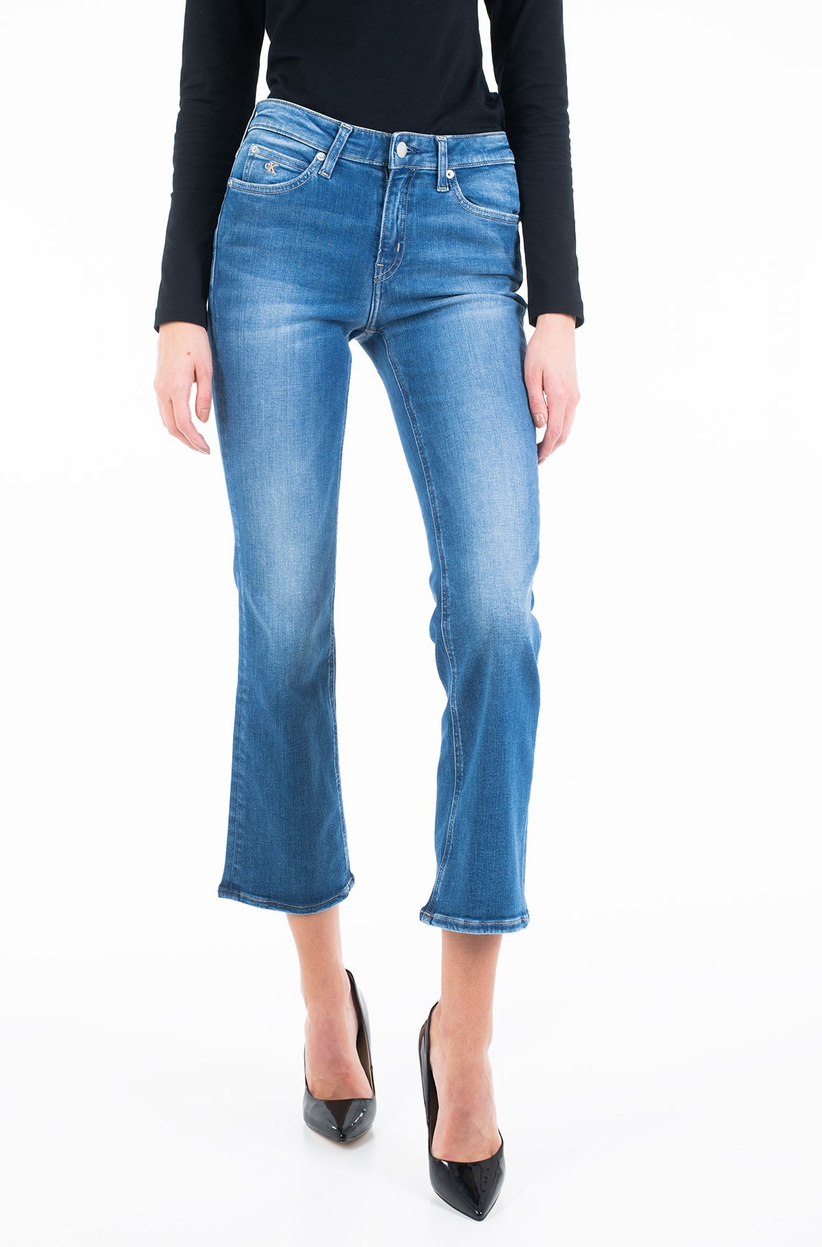 Jeans MID RISE CROP FLARE J20J213151-full-1