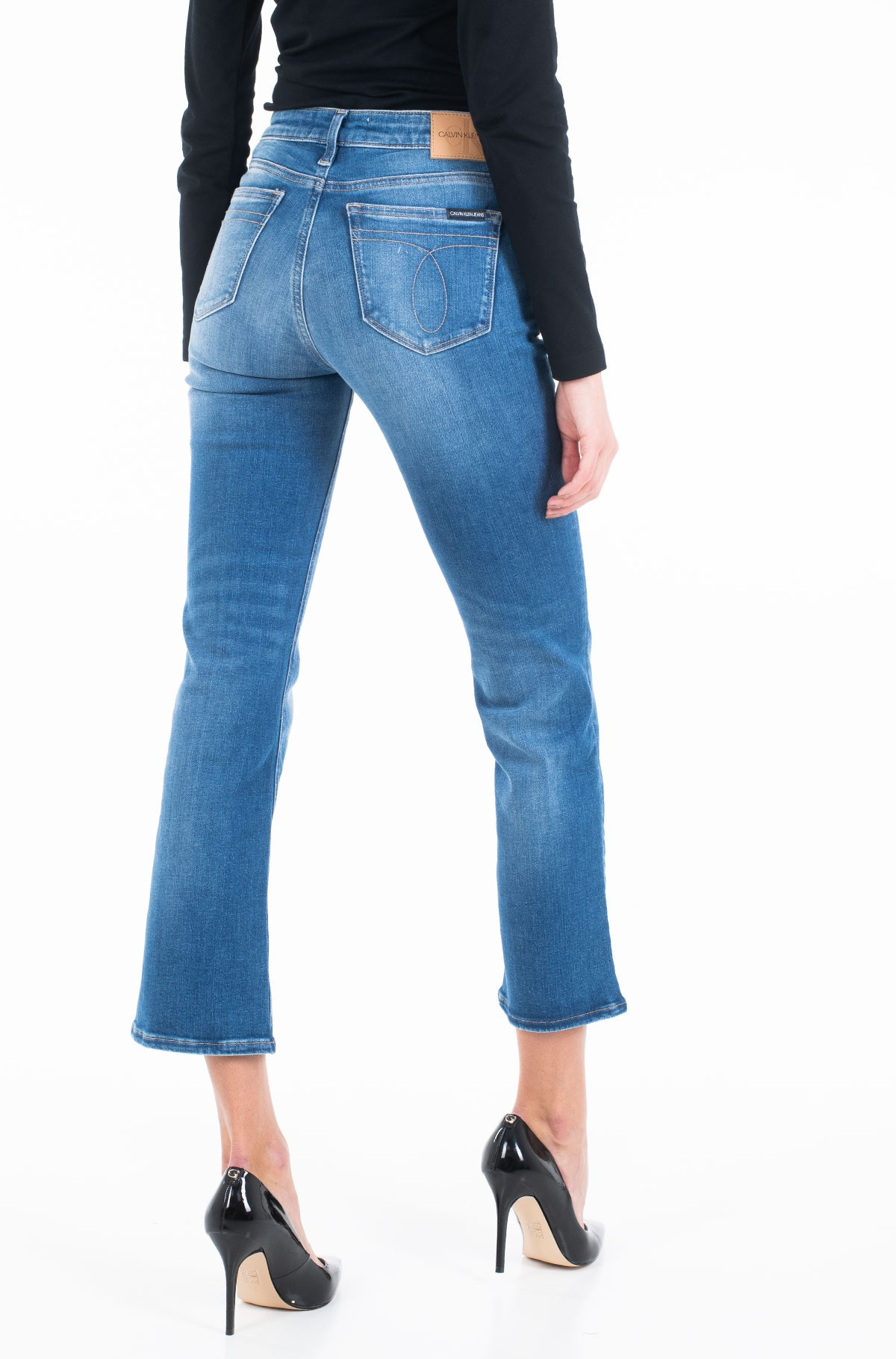 Jeans MID RISE CROP FLARE J20J213151-full-2