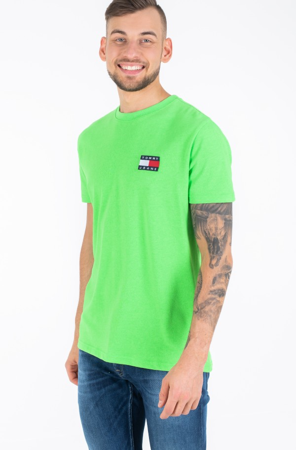 TJM TOMMY BADGE NEON TEE-hover