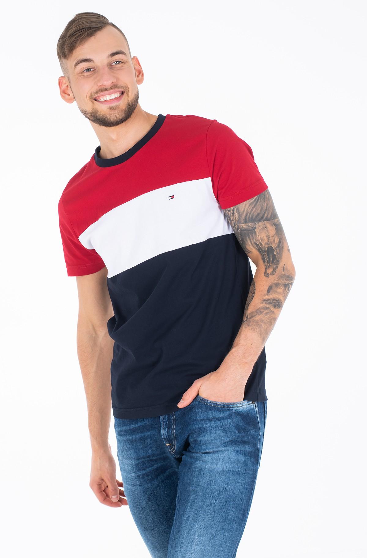 T-shirt COLOUR BLOCK TEE-full-1