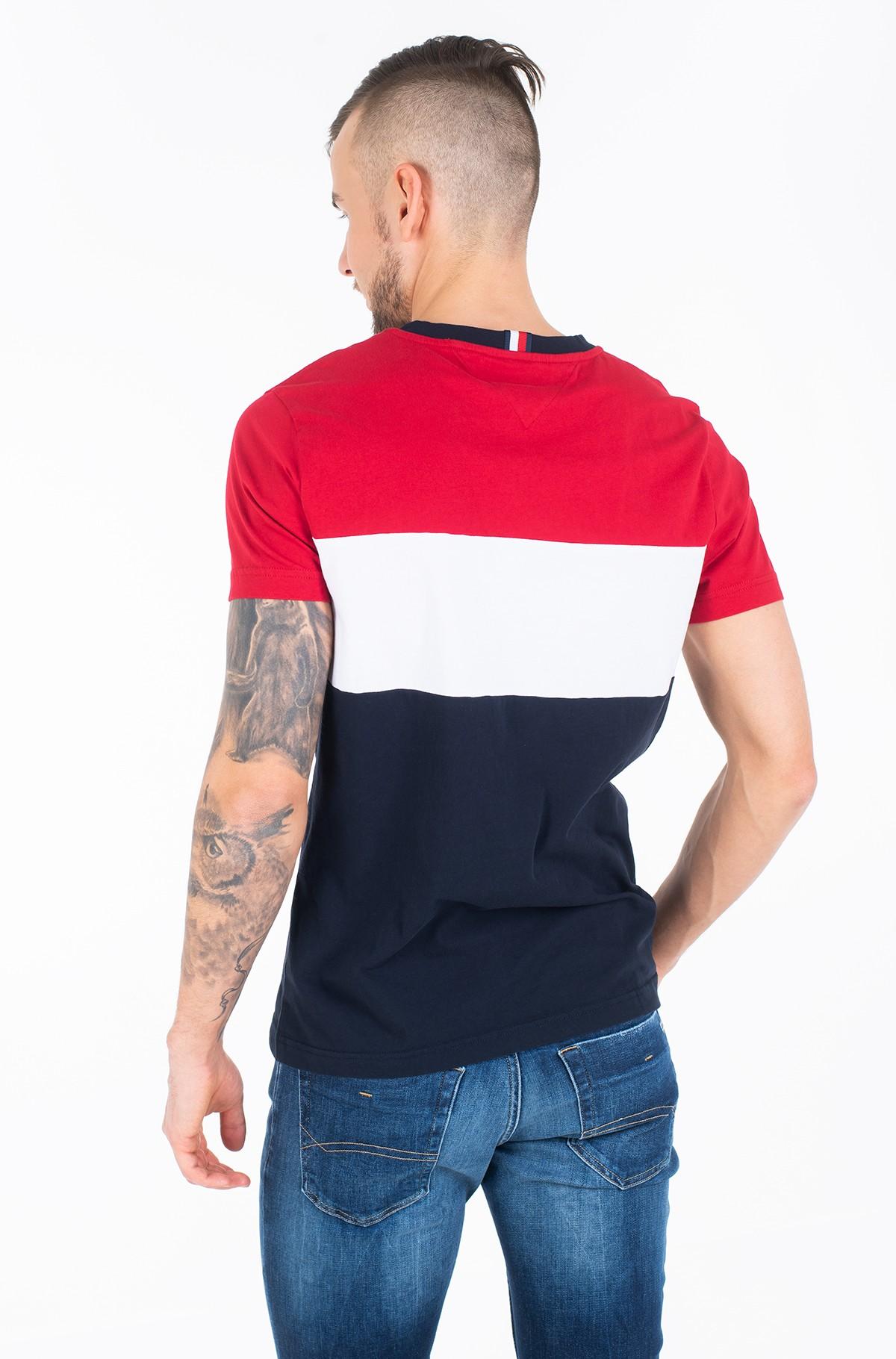 T-shirt COLOUR BLOCK TEE-full-3