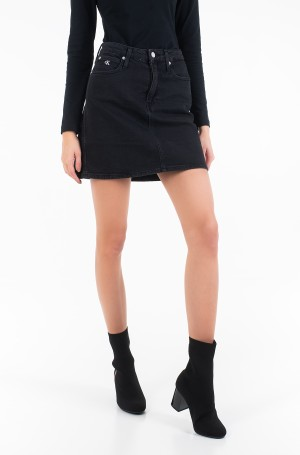 Džinsinis sijonas HIGH RISE MINI SKIRT-1