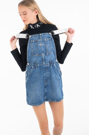 Suspender dress ICONICS DUNGAREE DRESS-1