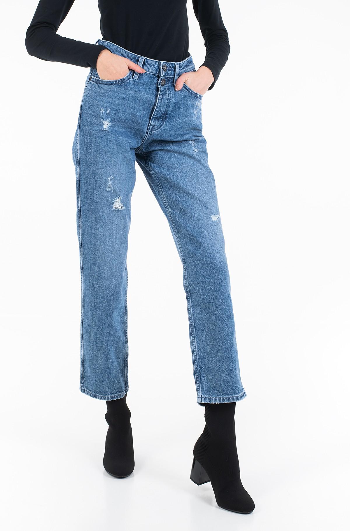Džinsinės kelnės CLASSIC STRAIGHT HW C MILO-full-1