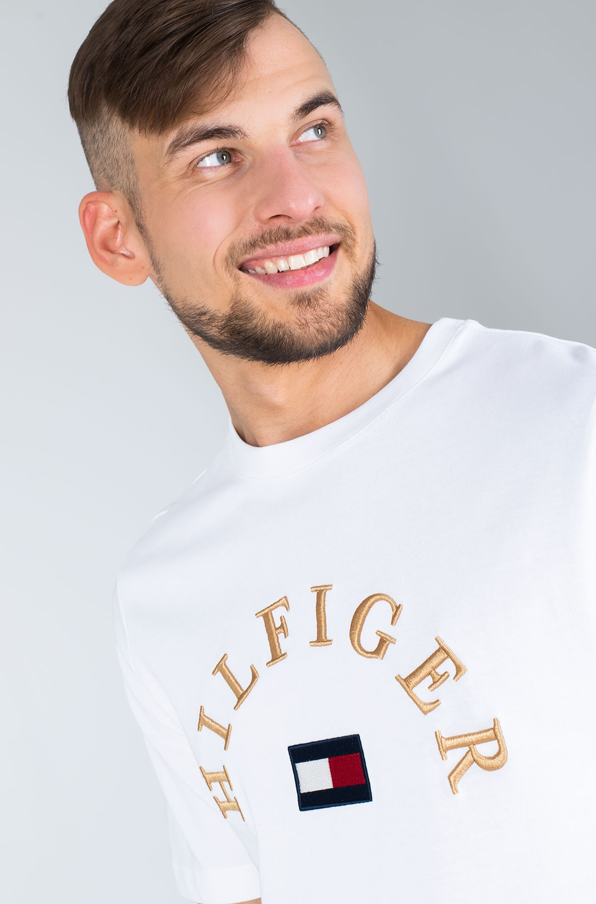 Marškinėliai HILFIGER ARCH RELAXED FIT TEE-full-2