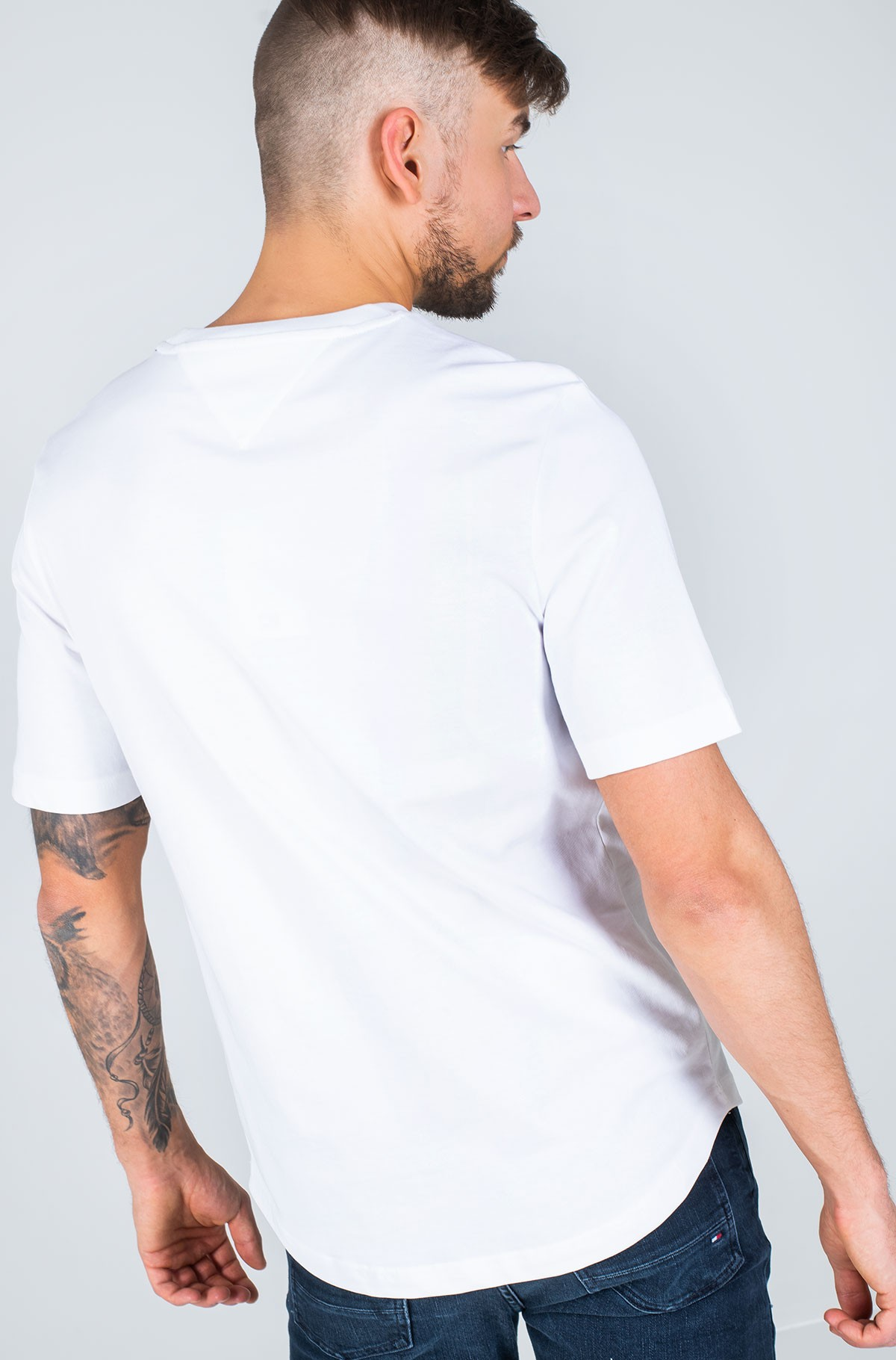 Marškinėliai HILFIGER ARCH RELAXED FIT TEE-full-3