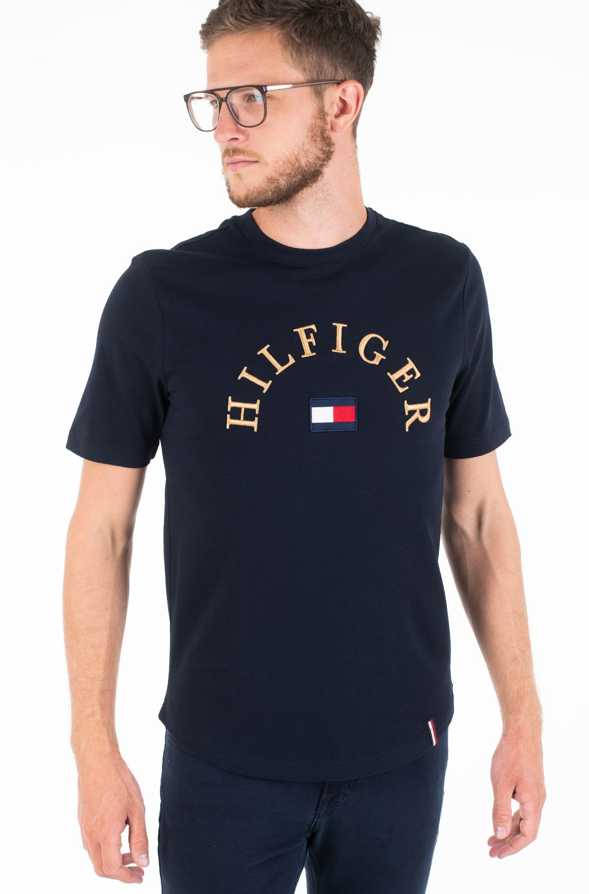 Marškinėliai HILFIGER ARCH RELAXED FIT TEE-full-1