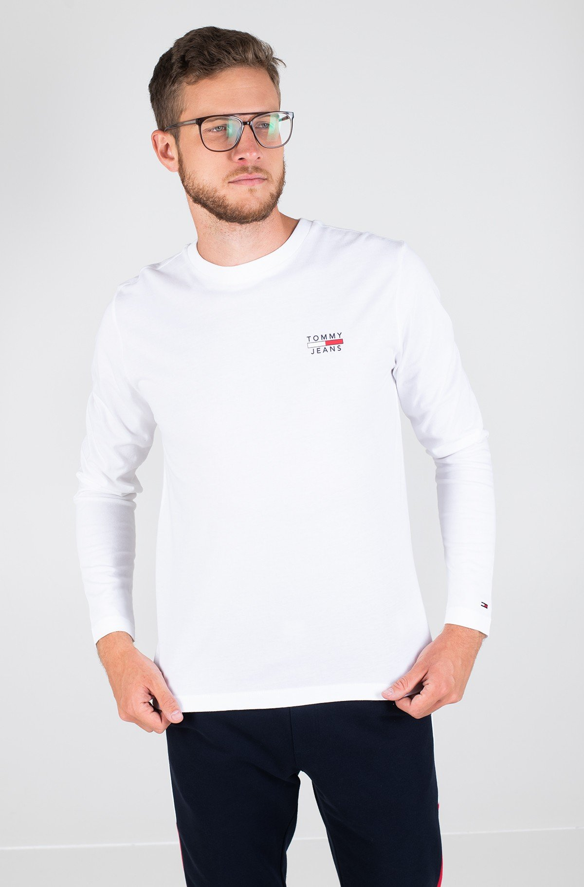 Marškinėliai TJM LONGSLEEVE CHEST LOGO TEE-full-1