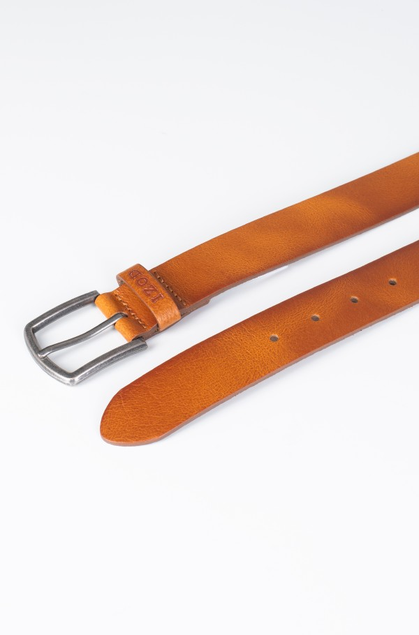 ASPEN LEATHER BELT-hover