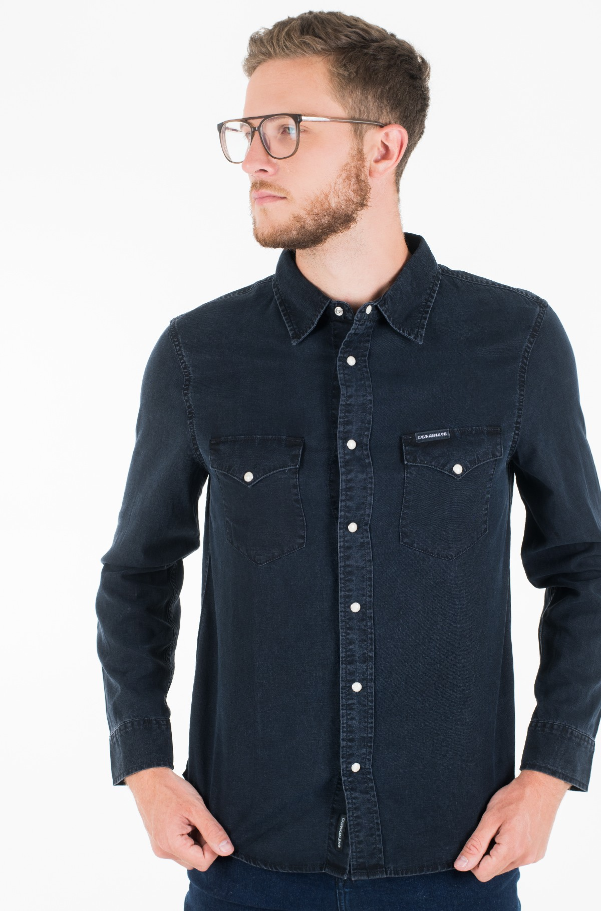 Denim shirt  MODERN WESTERN SHIRT-full-2