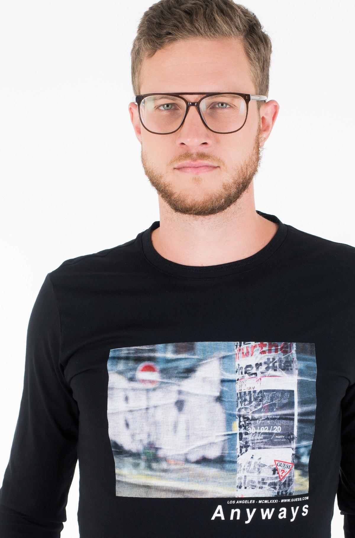 T-krekls ar garām piedurknēm  M01I58 K9H10-full-1