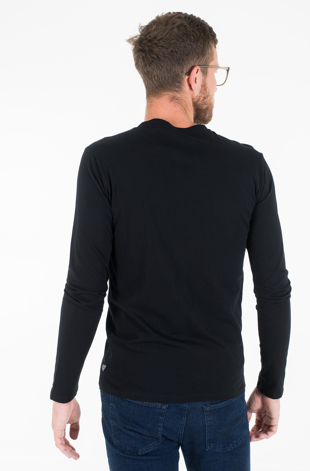 T-krekls ar garām piedurknēm  M01I58 K9H10-full-3