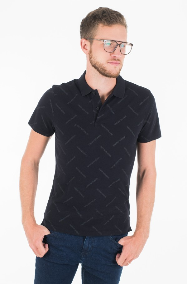 INSTITUTIONAL AOP SLIM POLO-hover