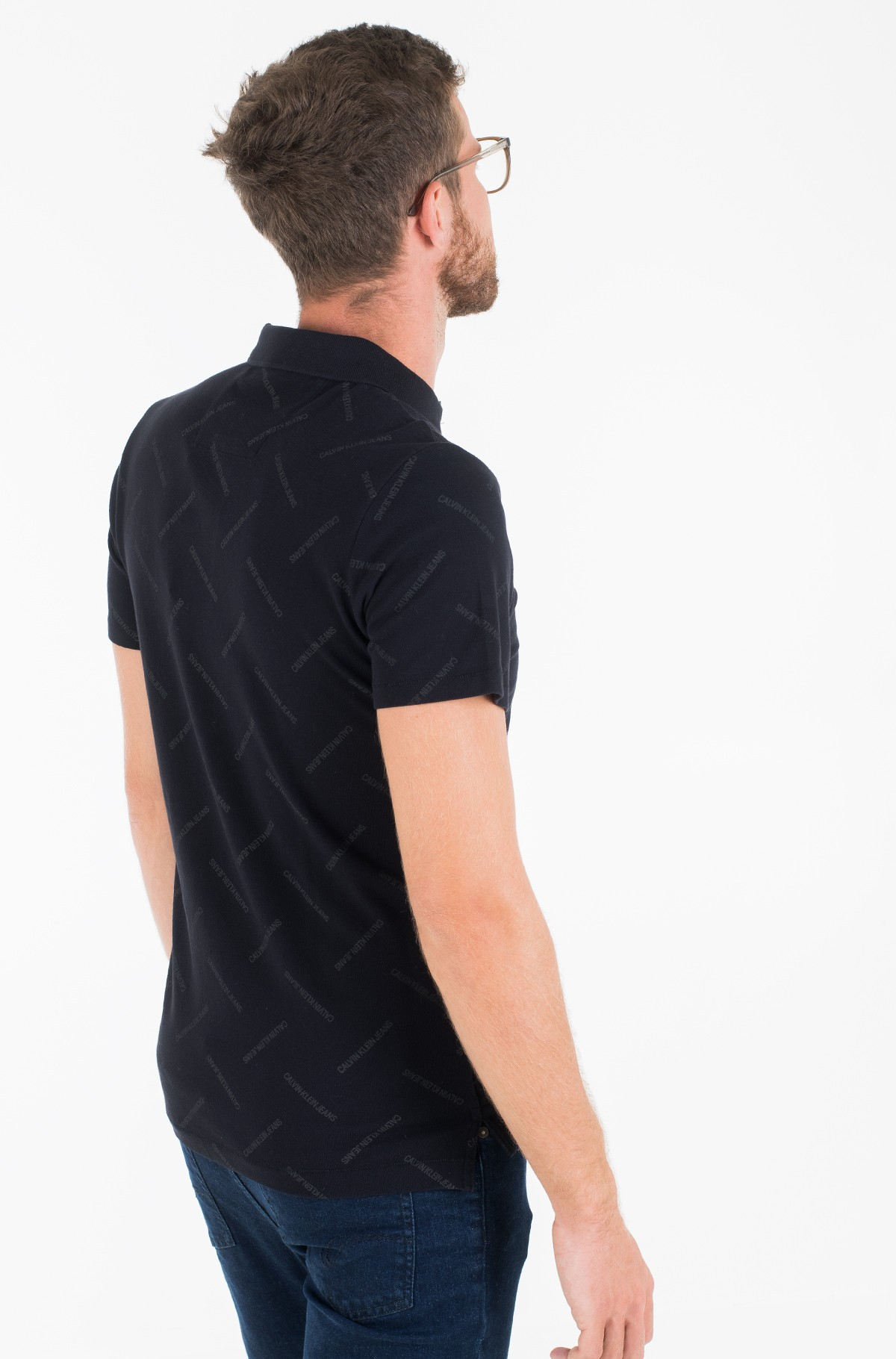 Polo INSTITUTIONAL AOP SLIM POLO-full-3