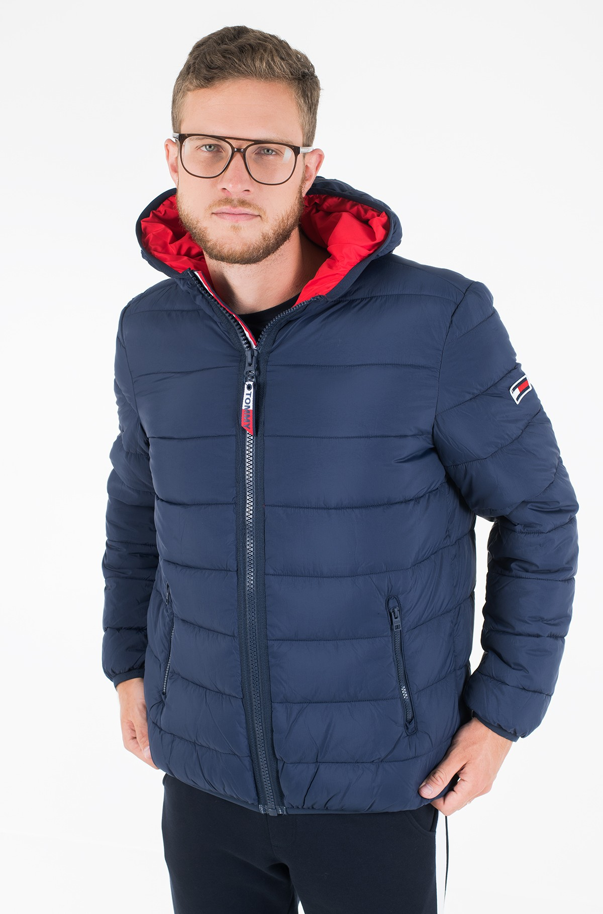 Striukė TJM ESSENTIAL PADDED HOOD JACKET-full-2