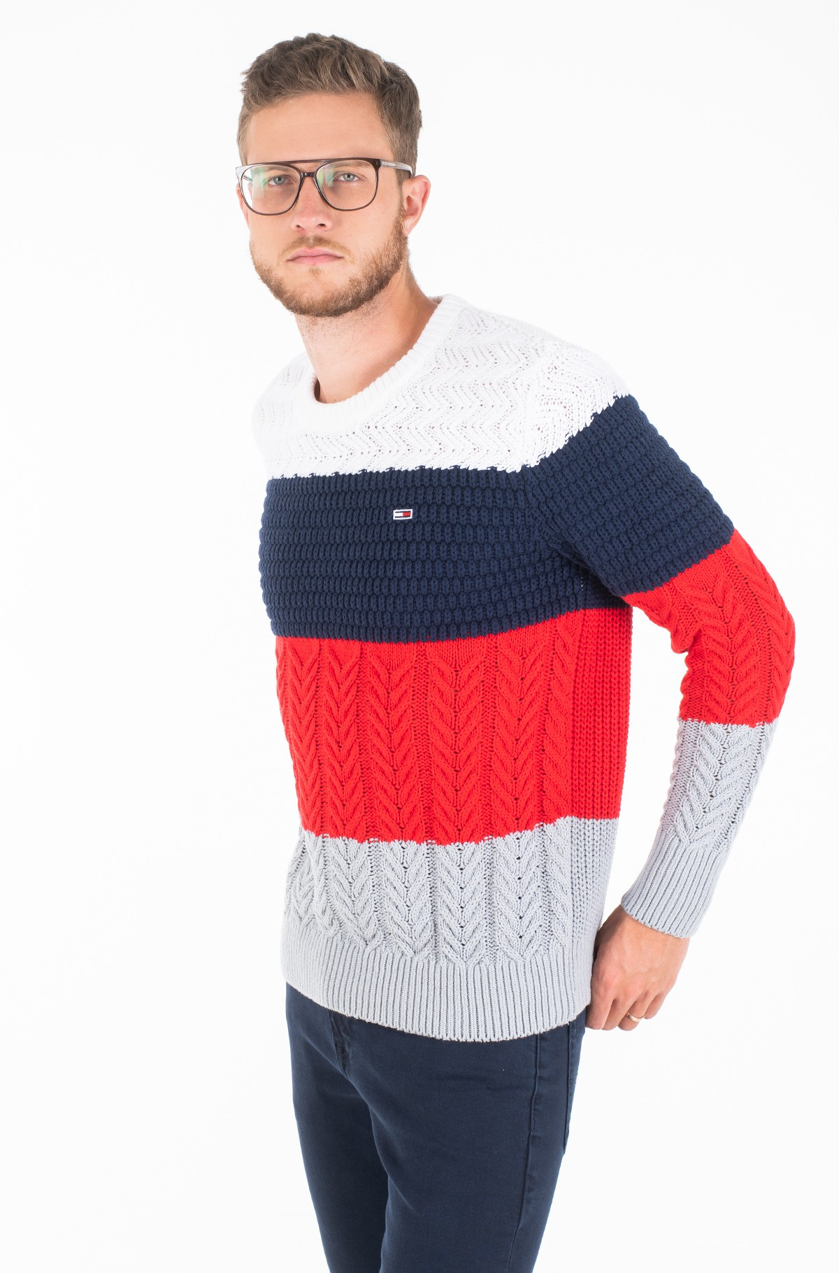 Džemperis TJM COLORBLOCK SWEATER-full-1