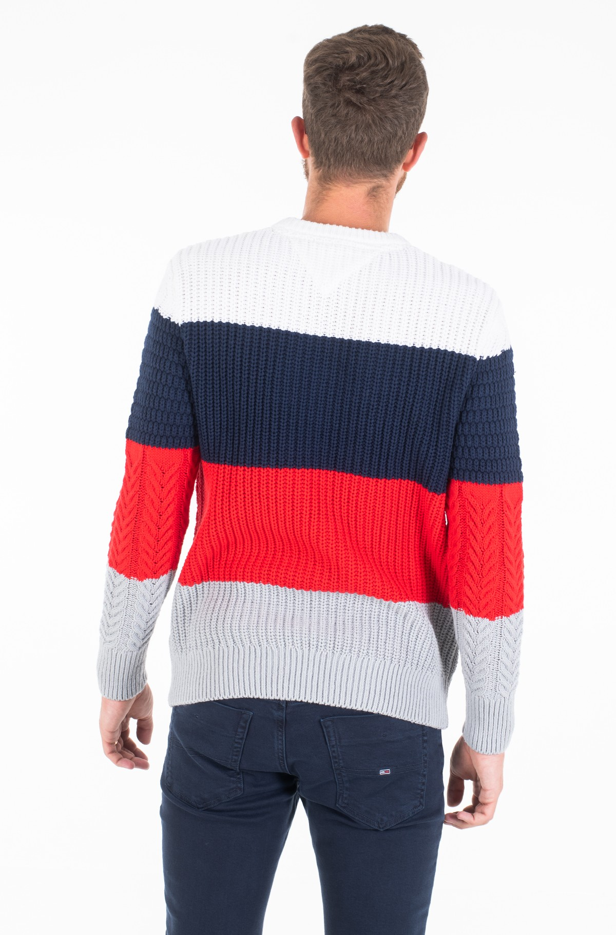 Džemperis TJM COLORBLOCK SWEATER-full-2