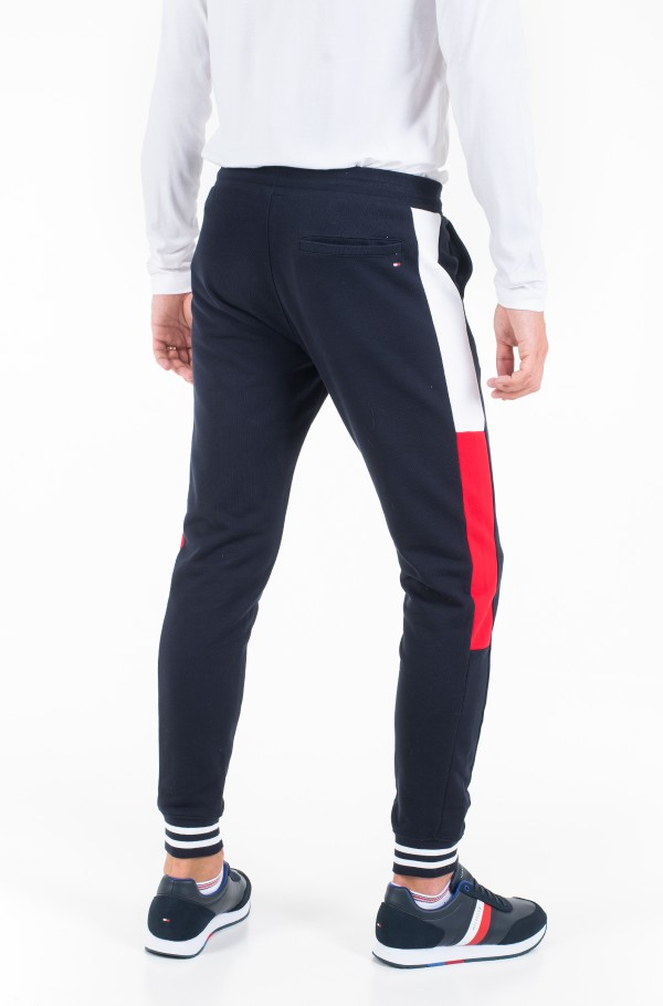 COLORBLOCKED SWEATPANTS-hover
