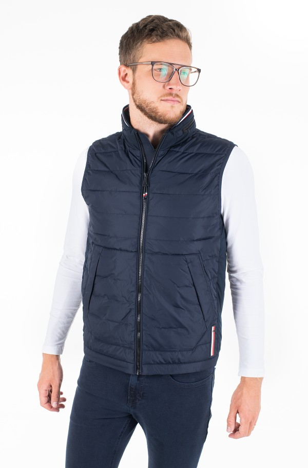 STRETCH QUILTED VEST