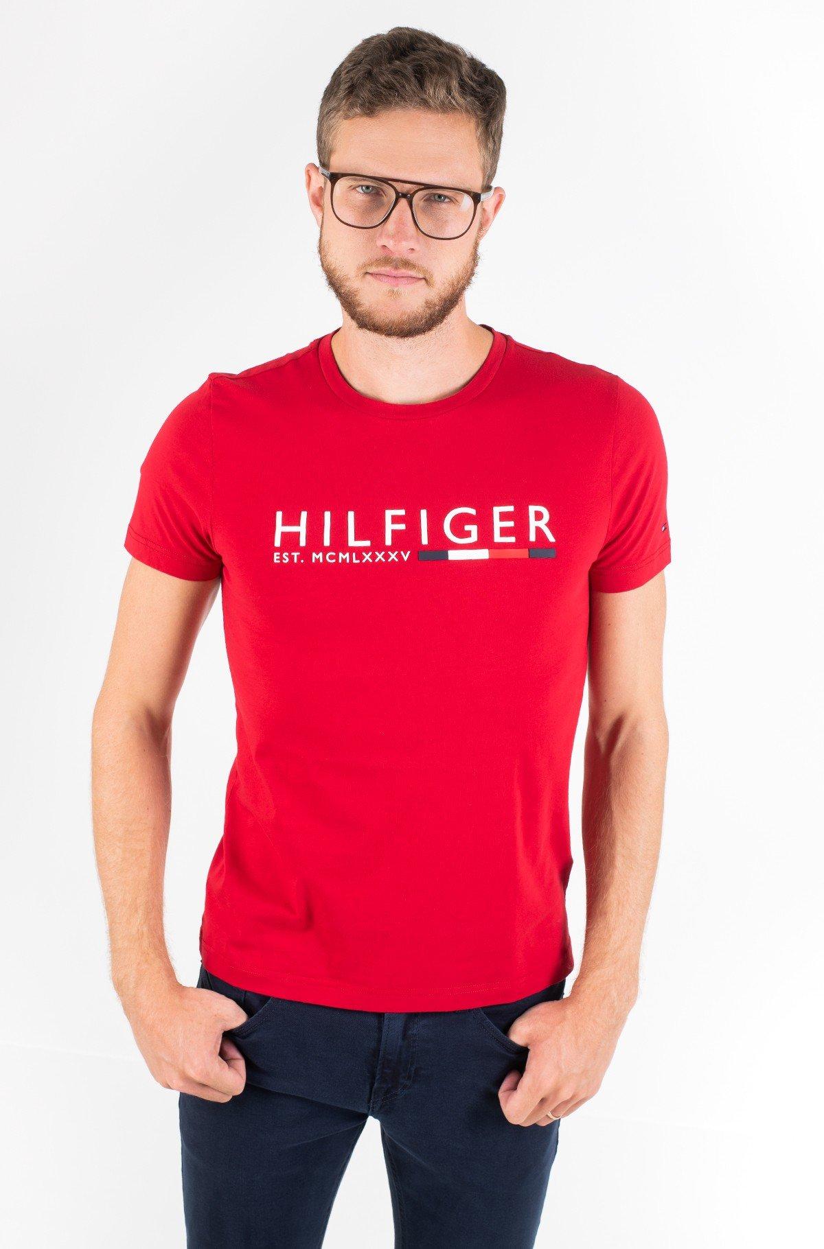 Marškinėliai CORP HILFIGER STRIPE TEE-full-1