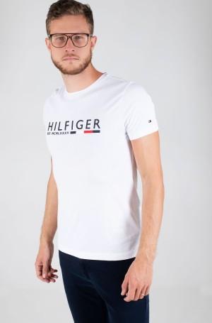 T-shirt CORP HILFIGER STRIPE TEE-1