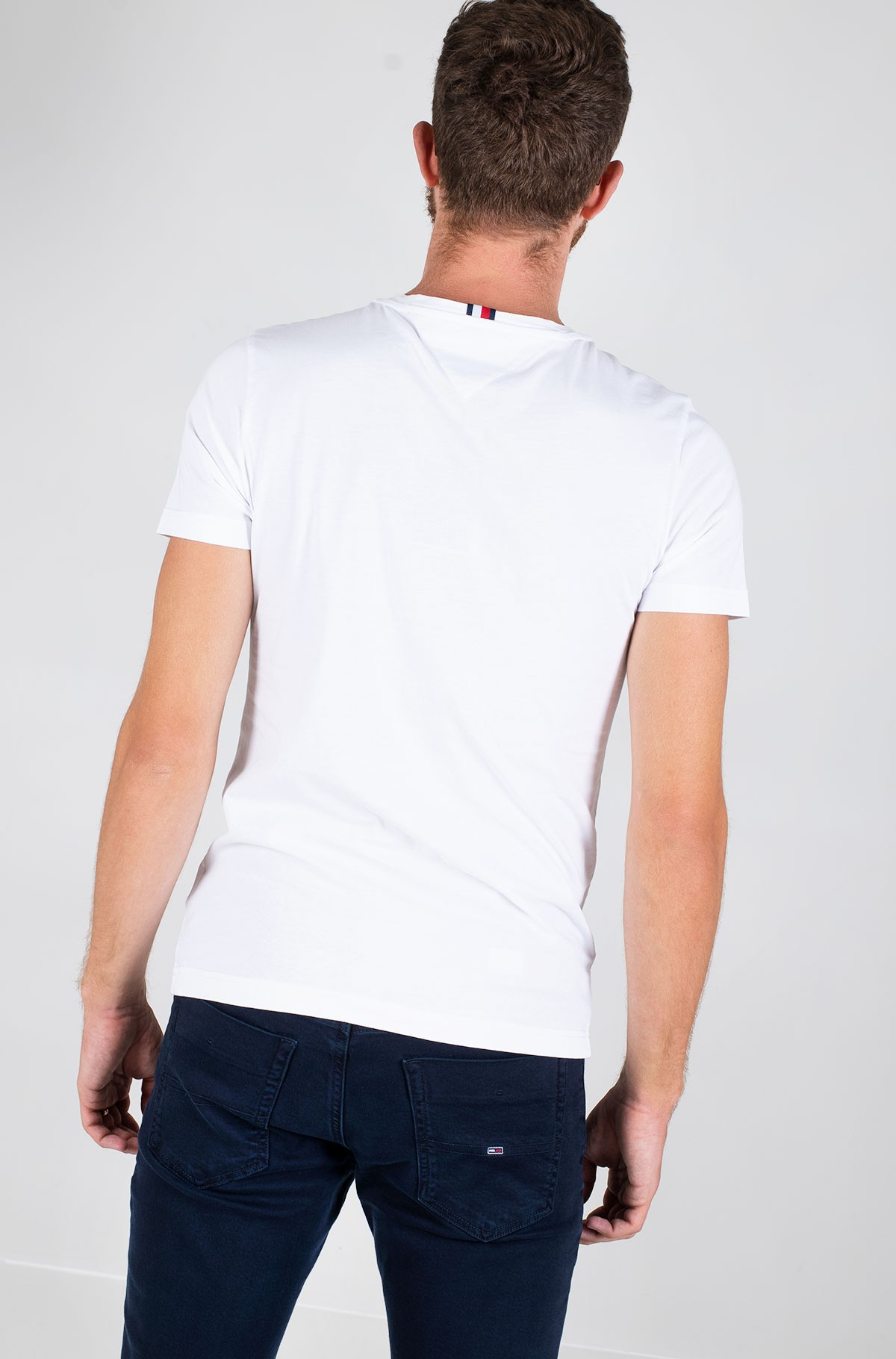 T-shirt CORP HILFIGER STRIPE TEE-full-2