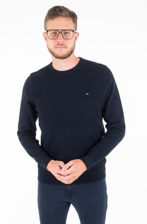 Sviiter STRUCTURED COTTON CREW NECK-1