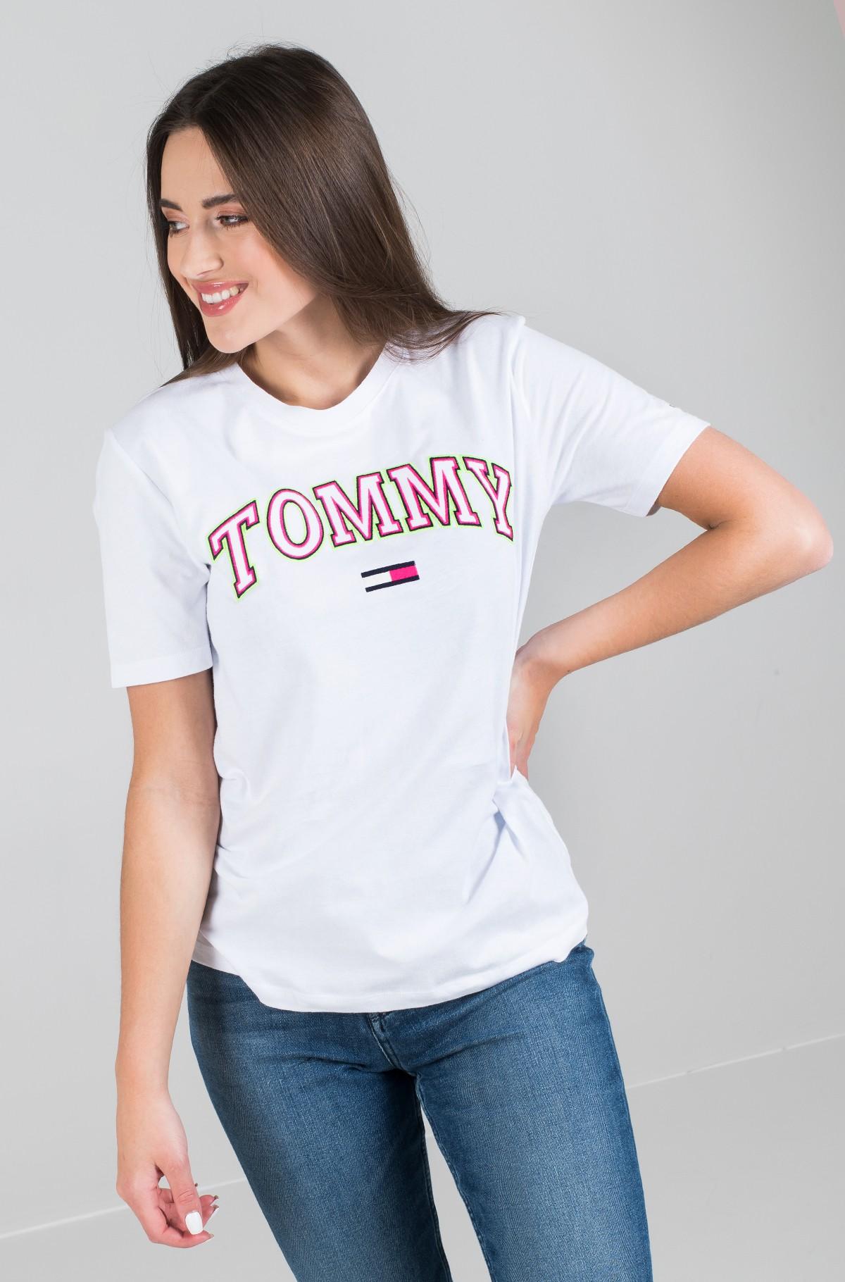 Marškinėliai TJW NEON COLLEGIATE TEE-full-2