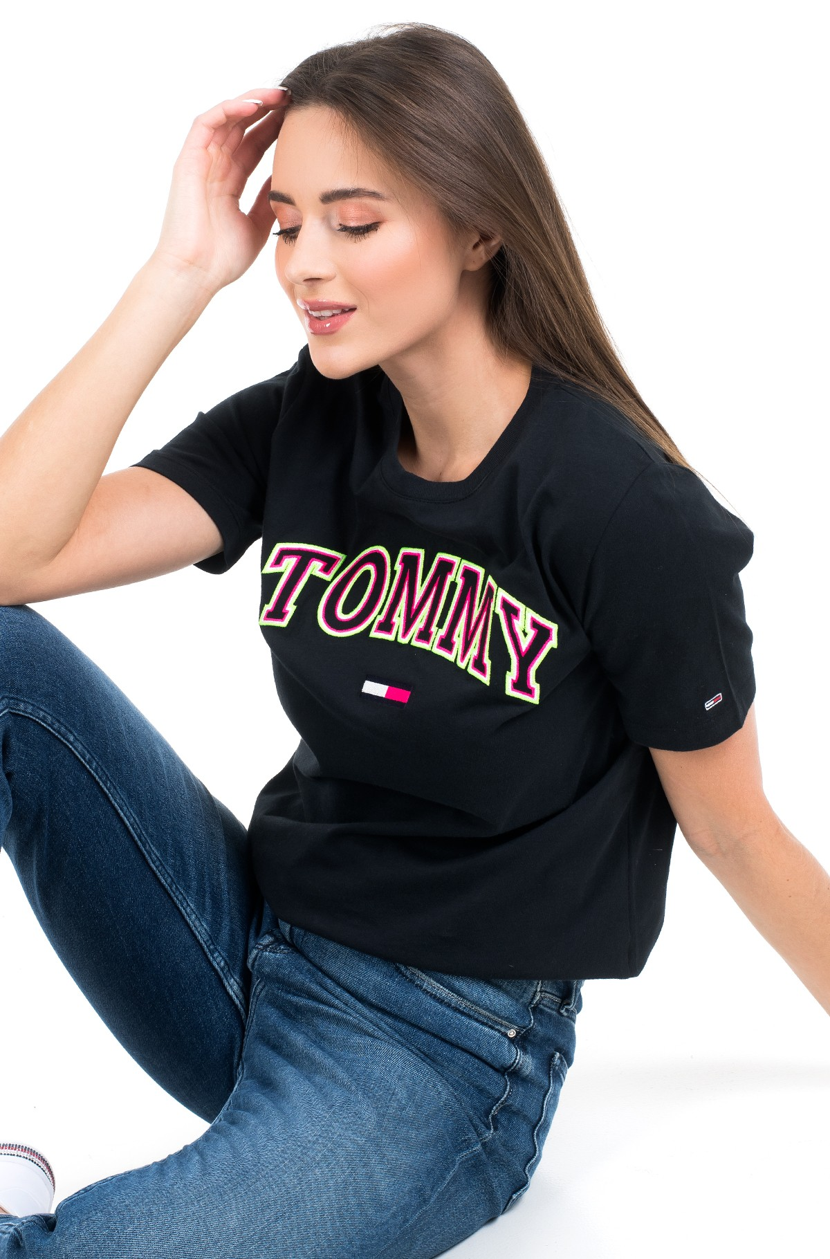 T-shirt TJW NEON COLLEGIATE TEE-full-1