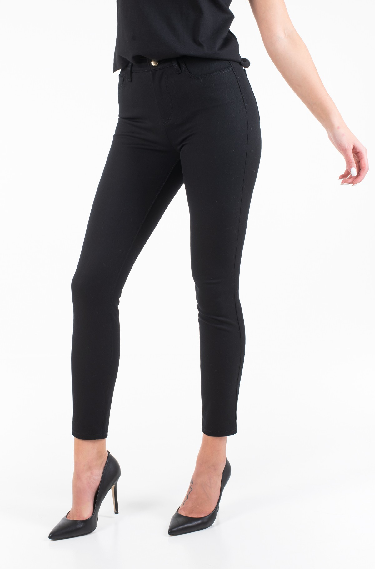 Džinsinės kelnės TH ESSENTIAL GABARDINE COMO PANT-full-2