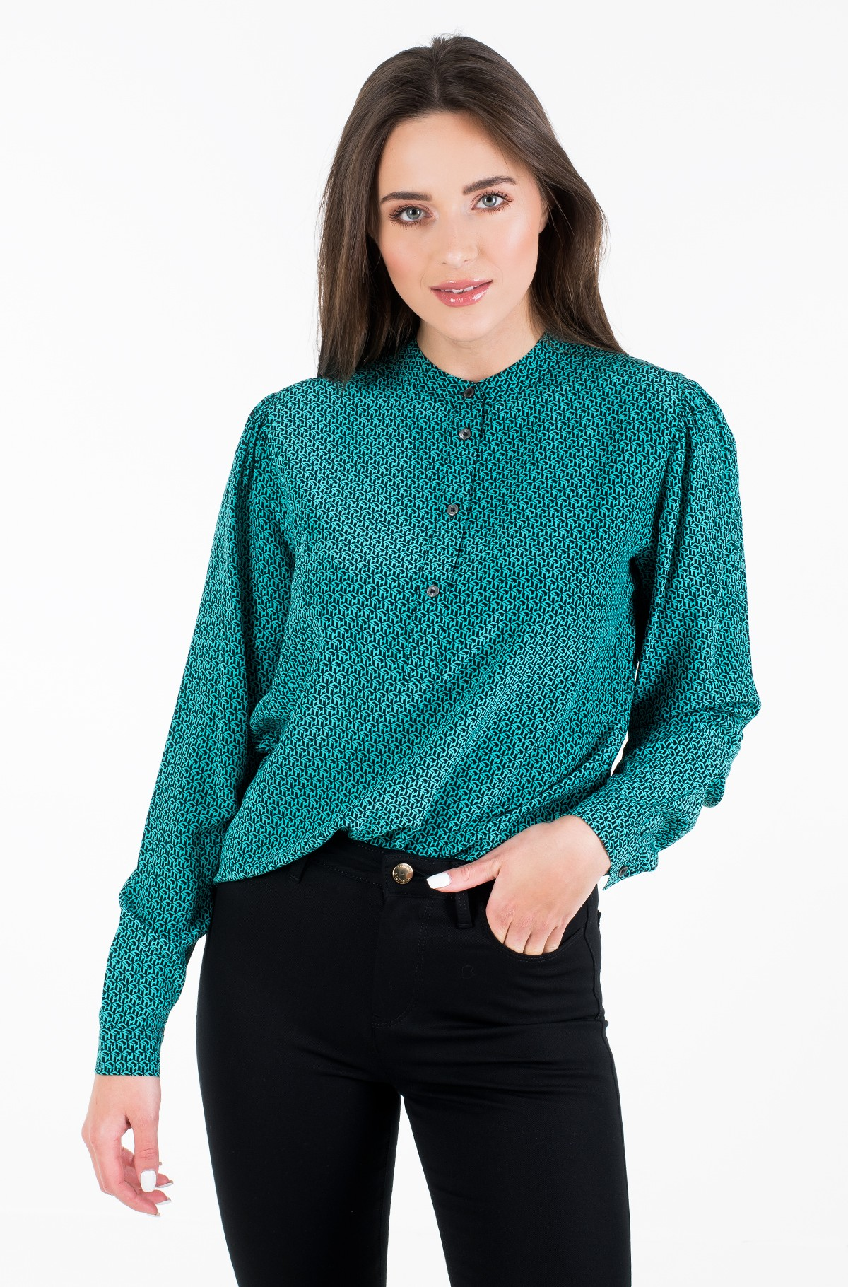 Shirt DION P-OVER BLOUSE LS-full-1