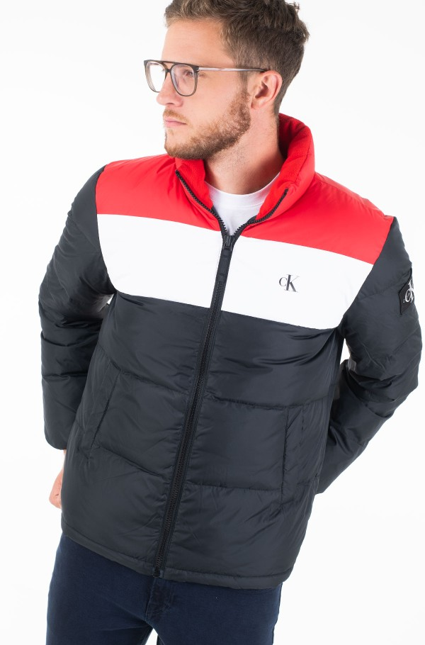 COLOR BLOCK DOWN PUFFER-hover