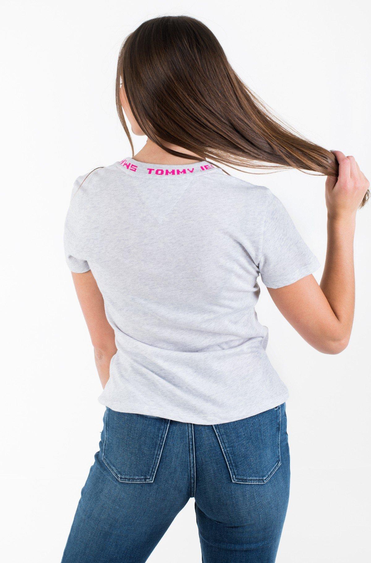 Marškinėliai TJW BRANDED NECK TEE-full-3