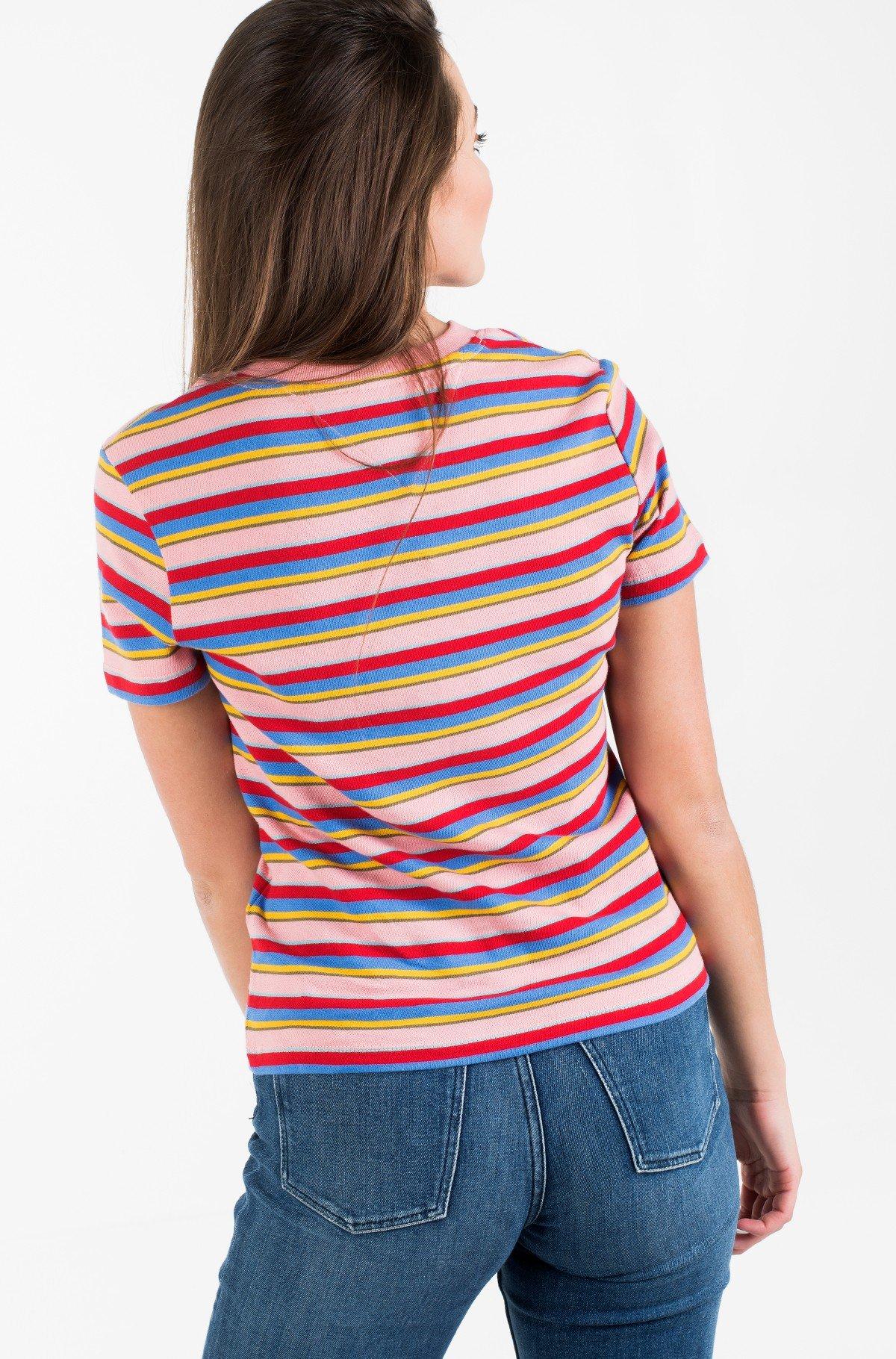 Marškinėliai TJW LINEAR LOGO STRIPE TEE-full-3