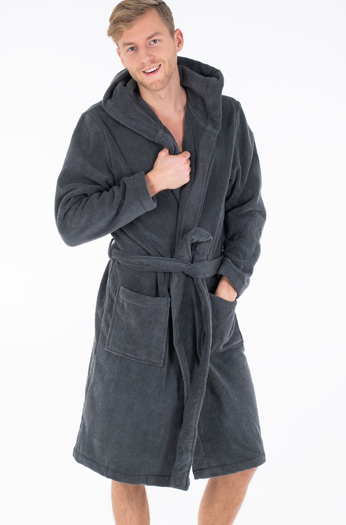 Hommikumantel Icon hooded bathrobe-full-1