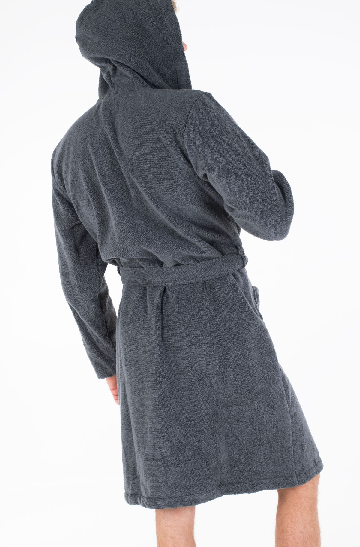 Chalatas Icon hooded bathrobe-full-3