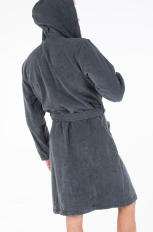 Hommikumantel Icon hooded bathrobe-3