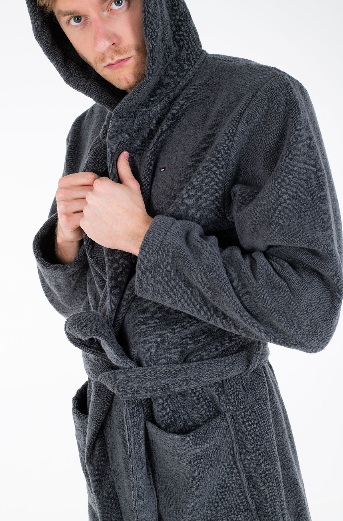 Hommikumantel Icon hooded bathrobe-full-2