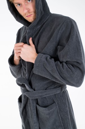 Hommikumantel Icon hooded bathrobe-2