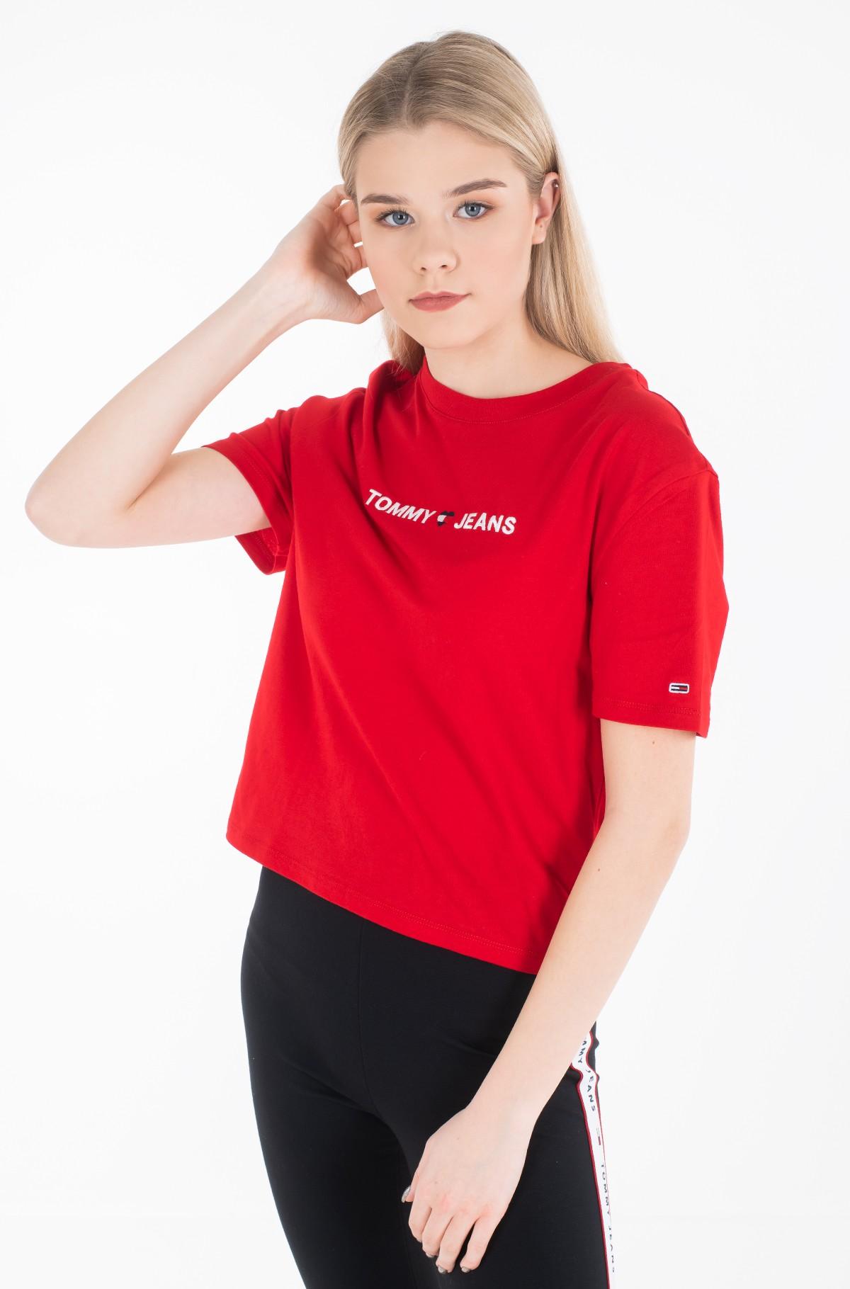 Marškinėliai TJW LINEAR LOGO DETAIL TEE-full-2