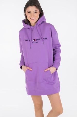 Dress TH ESS HOODED DRESS LS-2
